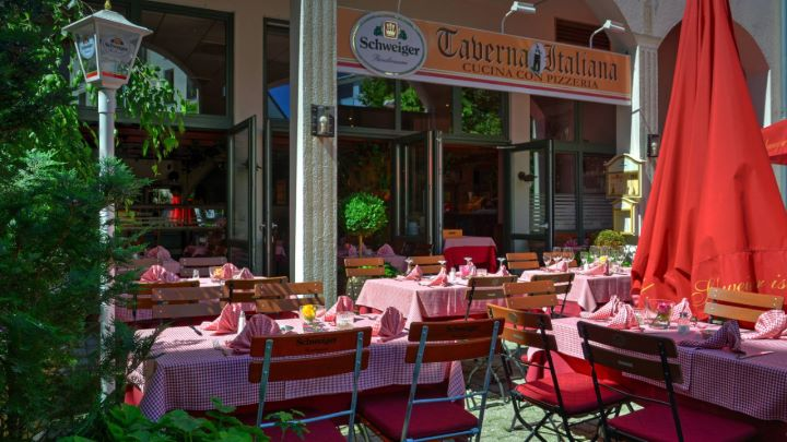 Taverna Italiana • Cucina con Pizzeria • Wasserburg a. Inn • Start •